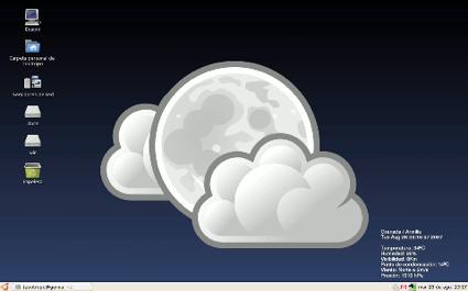 Weather Wallpaper, cambia de escritorio Ubuntu según el tiempo
