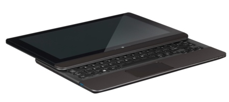 Toshiba Satellite U920t en modo tablet