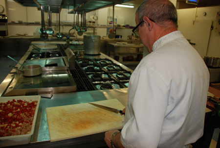 Miguel jefe de cocina