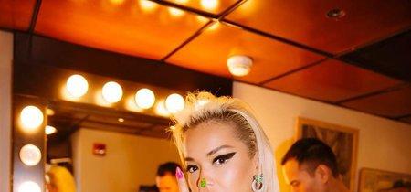 Las jelly nails multicolor se convierten en la última obsesión de Rita Ora