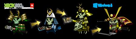 Plataformas Skulls of the Shogun