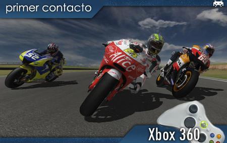 'MotoGP 08': primer contacto