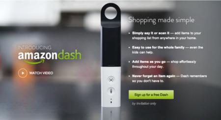 Amazon Dash, el accesorio de Amazon para hacer las compras