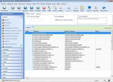 Ofipro, completo sistema de gestión empresarial online