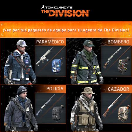 Paquetes De Equipo The Division