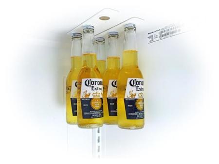 Bottle Loft, un colgador de botellas para el refrigerador