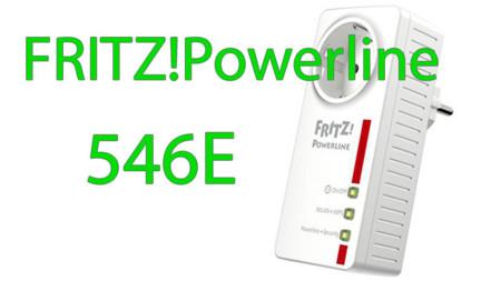 FRITZ!Powerline 546E: Enchufe inteligente, extensor WiFi y PLC