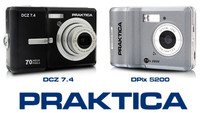 Dos nuevas compactas de Pentacon: Praktica DCZ 7.4 y DPix 5200