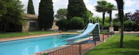 Solius piscina exterior