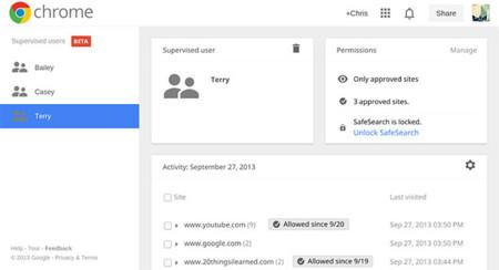 """Así funcionan los nuevos """"Usuarios Supervisados"""" de Chrome"""