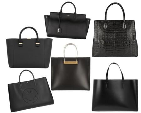 Bolsos Shopping Bag Luxury Negros