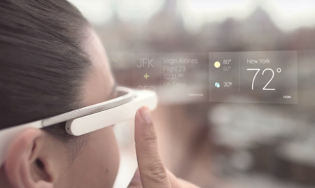 Así es la interfaz de Google Glass
