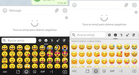 Cambiar Emojis Android