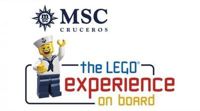MSC Cruceros y The LEGO Group se unen para ofrecer experiencias de juego a bordo y para toda la familia
