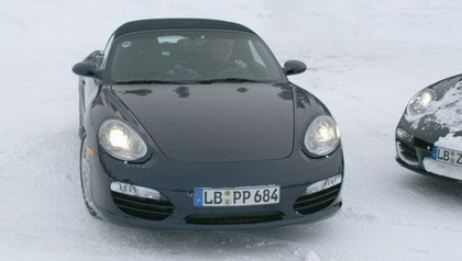 Fotos espía del restyle del Porsche Boxster