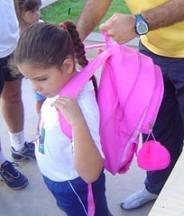 La mochila escolar y la espalda de los niños, algunos consejos