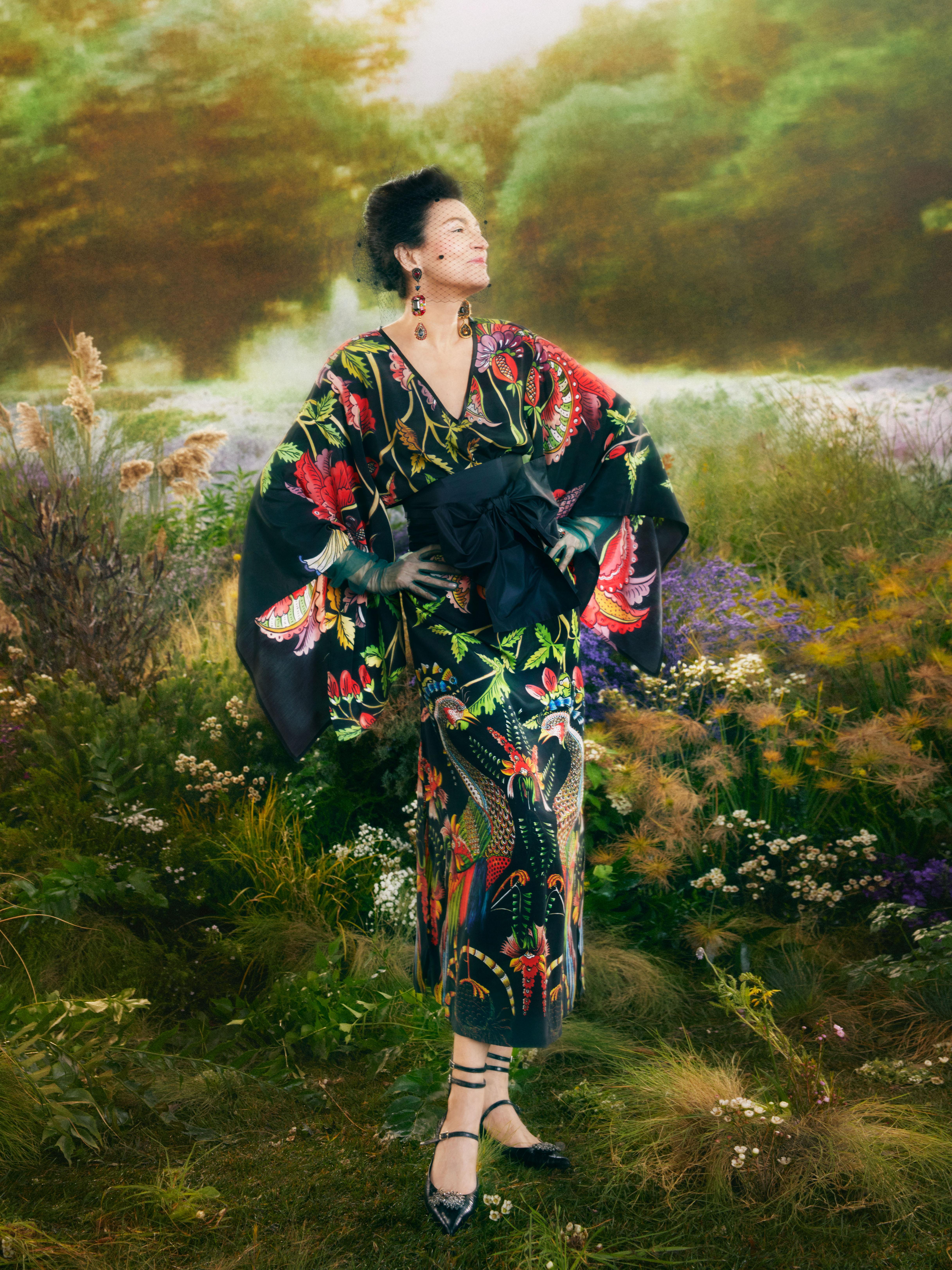 Vestido de estilo oriental