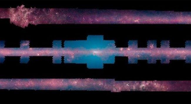 Un mosaico 360º de la Vía Láctea sobre 2 millones de imágenes