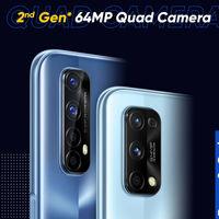 Los Realme 7 y 7 Pro dispondrán de cámara trasera cuádruple con sensor principal Sony de 64 megapíxeles
