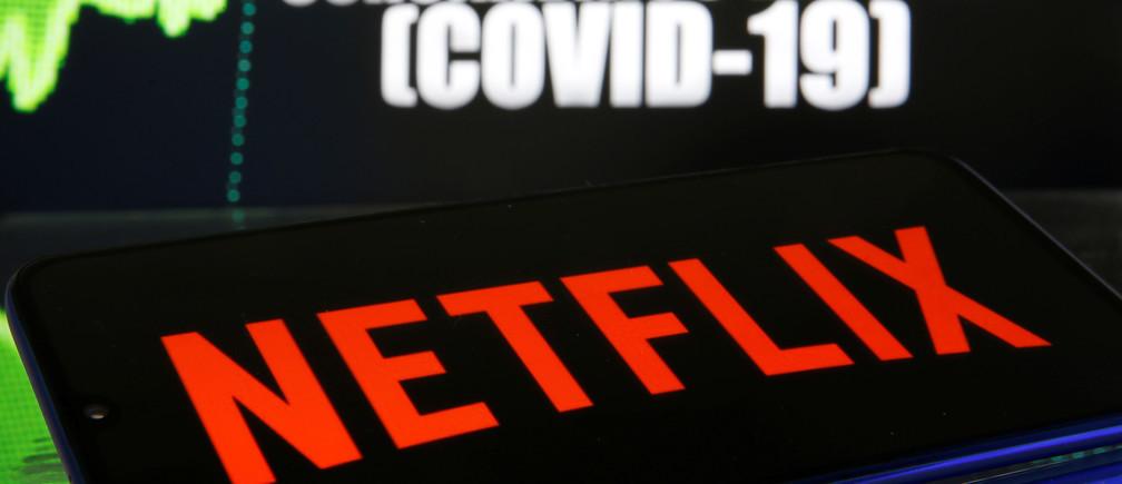 Netflix cresce mais do que o dobro do que o esperado, como resultado da pandemia de coronavírus
