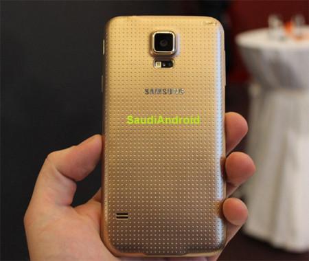 Galaxy S5 trasera