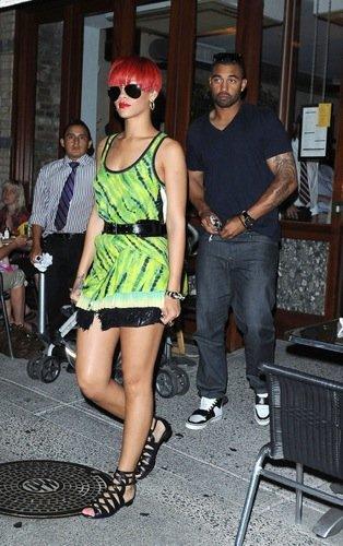 Vestido verano Rihanna
