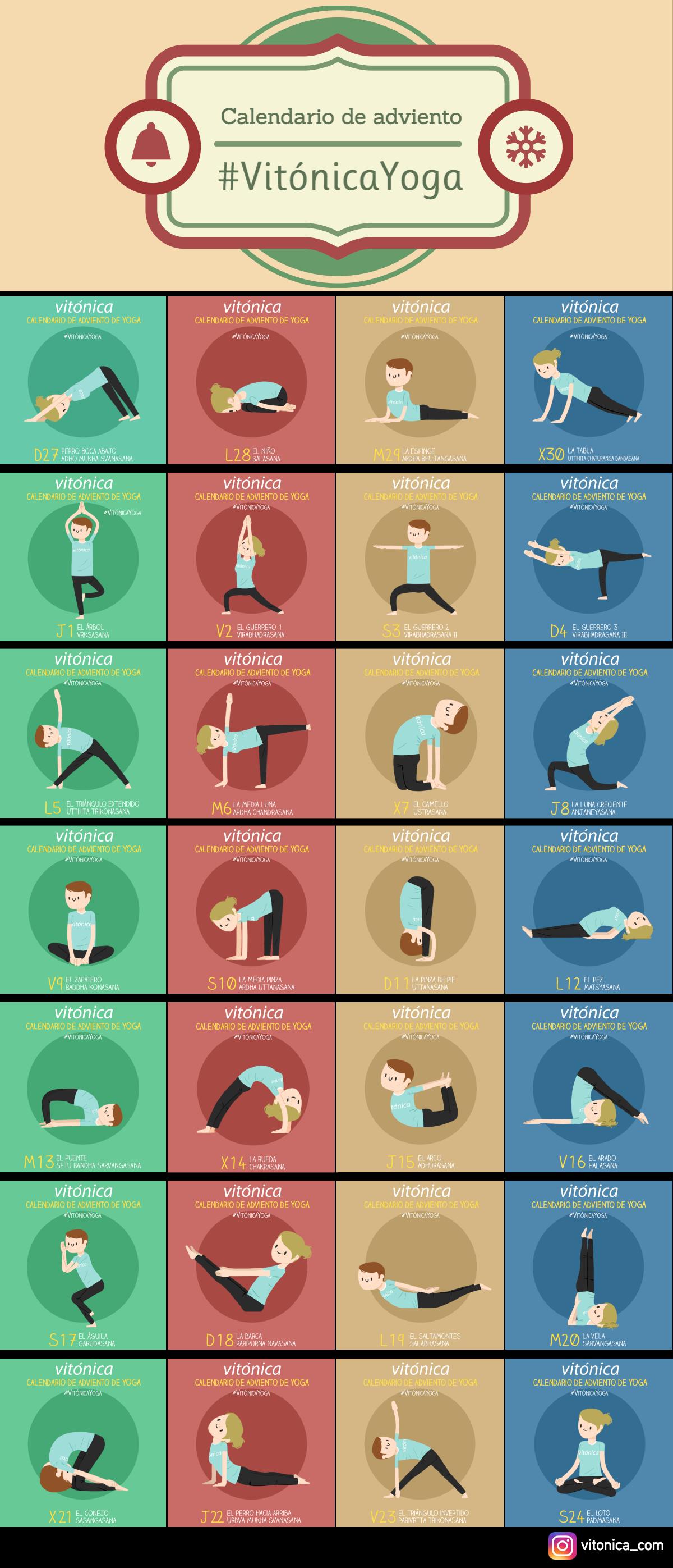 Foto de Calendario de adviento Vitónica Yoga (1/1)