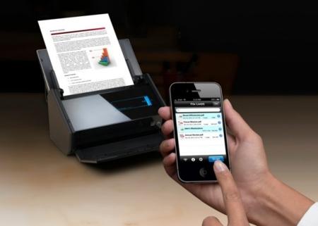 Fujitsu escáner a móvil