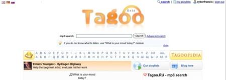 Tagoo, buscador de temas musicales alojados en internet