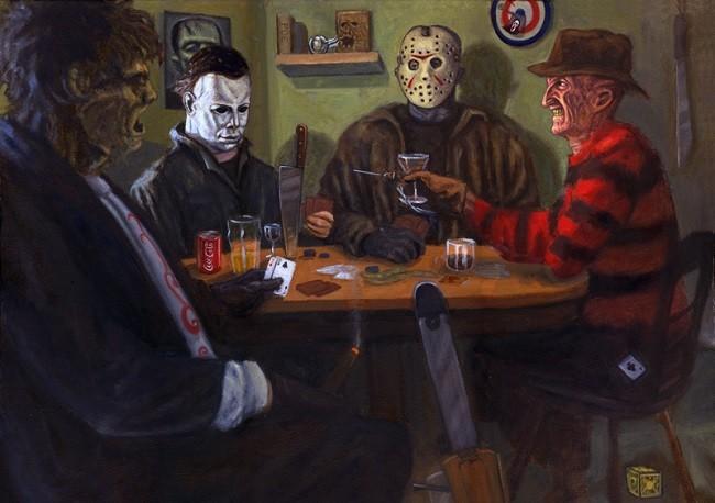 Macabra partida de poker