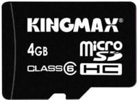 Kingmax ya tiene tarjeta microSDHC de 4 GB