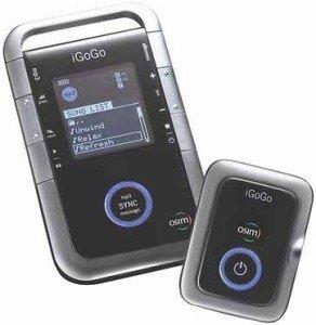 Osimi iGoGo, el reproductor de MP3 que te masajea