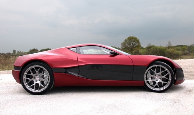 Rimac Concept_One vista lateral
