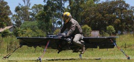 ¡Mira! La moto voladora del Ejército americano