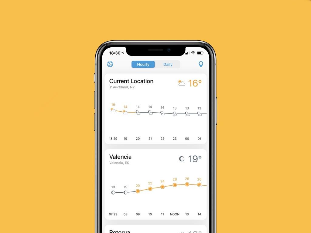 Weather Line 2: la app del tiempo más cuidada de todas se actualiza con multitud de cambios