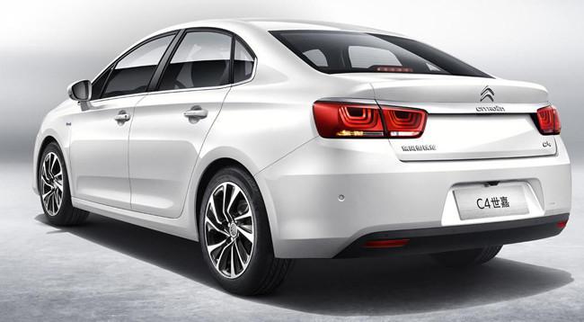 Citroën C4 Sedán para China