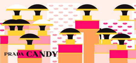 El road trip sexy y glamouroso creado por Vahram Muratyan para Prada Candy Kiss