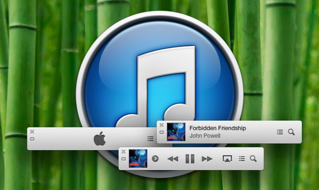 Minirreproductor iTunes 11