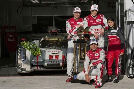 24 horas de Le Mans 2012: Homenaje a Audi