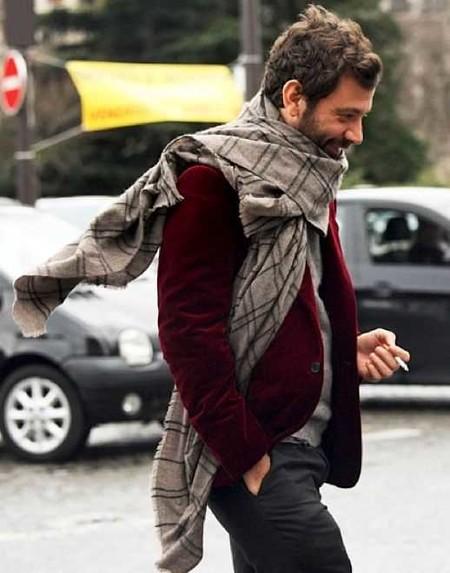 Trendencias Hombre Terciopelo Street Style 2018 06