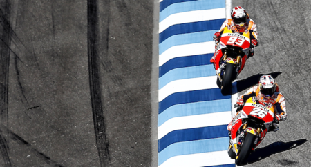 MotoGP Indianápolis 2015: Marc Márquez, Álex Rins y Danny Kent se hacen con las poles