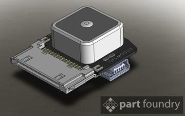 Prototipo de GPS para el iPhone
