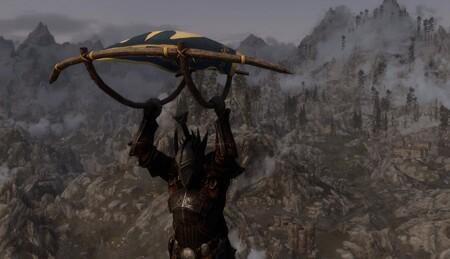 La paravela de The Legend of Zelda: Breath of the Wild aterriza en el reino de Skyrim y ya podemos usarla para surcar los cielos