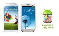 Samsung Galaxy S3 y Galaxy S4 recibirán Android 4.3 (Jelly Bean) en Octubre