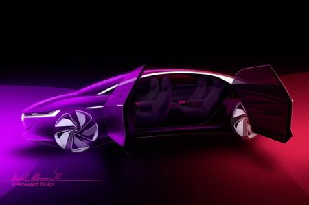 Volkswagen estrenará el I.D. Vizzion Concept en Ginebra... y no tiene volante