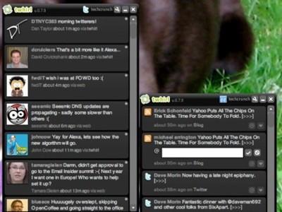 Twhirl añade soporte para FriendFeed, AlertThingy puede echarse a temblar