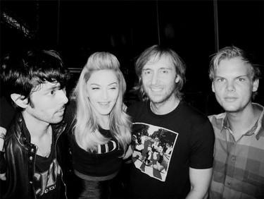 Madonna ya es a la electrónica lo que el pan es al chorizo: si van juntos, mejor