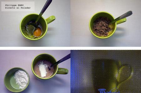 Pastel Chocolate en taza