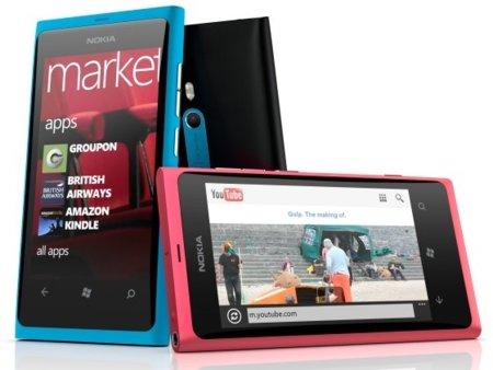 Todos los precios del Nokia Lumia 800 con Vodafone