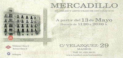Mercadillos de primavera 2011 en Madrid: Becara y Hanbel
